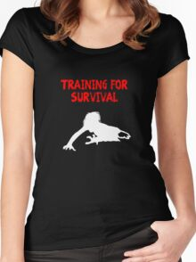 Zombie Survival Women's Fitted Scoop T-Shirt