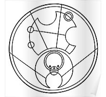 """Hello Sweetie"" Translated into Gallifreyan Poster"