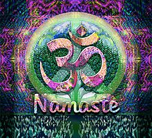 Namaste Tree of Life Symbol by Amelia Carrie by treeoflifeshop