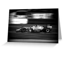 F1  Greeting Card