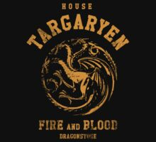 Game of Thrones House Targaryen by nofixedaddress