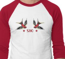 510 - Swallows Men's Baseball ¾ T-Shirt