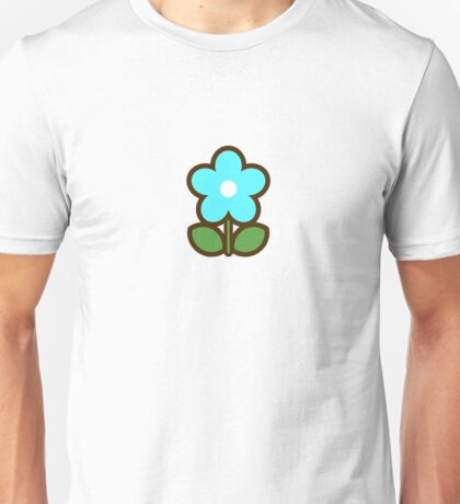 Flower Glow Blue - Day 1 (Sunday) 1of7 designs Unisex T-Shirt