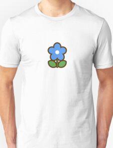 Flower Blue - Day 2 (Monday) 2of7 designs Unisex T-Shirt