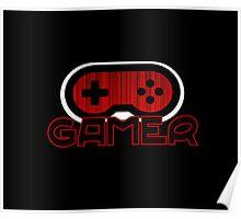 Red GAMER Poster