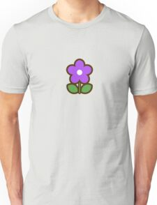 Flower Glow Blue - Day 6 (Friday) 6of7 designs Unisex T-Shirt