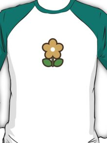 Flower Off/Yellow - Day 7 (Sunday) 7of7 designs T-Shirt