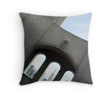 Coit Tower Windows Throw Pillow