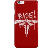 Fireflies - Rise! White Version iPhone Case/Skin
