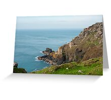 Crown Mines, Cornwall Greeting Card