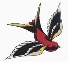 Left Swallow by BonyHomi