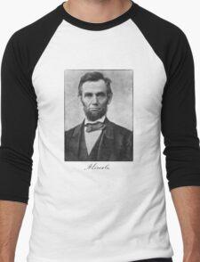 Abraham Lincoln Men's Baseball ¾ T-Shirt
