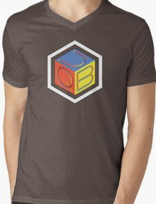 QUB Mens V-Neck T-Shirt