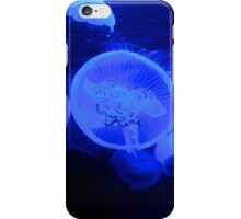 Jelly fish blue iPhone Case/Skin
