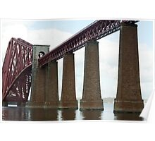 Forth Rail Bridge viaduct Poster