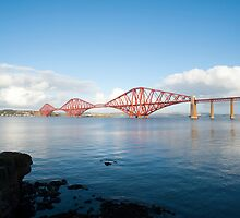 View of the Forth Rail Bridge by photoeverywhere