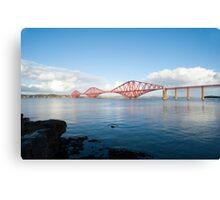 View of the Forth Rail Bridge Canvas Print