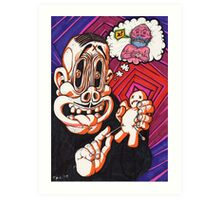 Voodoo Man Art Print
