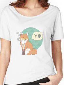 Gangster Fox Women's Relaxed Fit T-Shirt