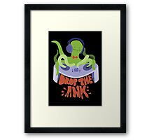 Drop the Ink! (Triad) Framed Print