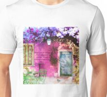 Inspirational Rumi JOY Quote Unisex T-Shirt
