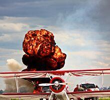 Airshow Explosion  by Jesse Diaz