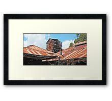 Old Shipyard Framed Print