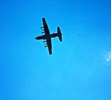 C-130 Drop  by Jesse Diaz