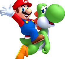 CHEAP Mario bros and yoshi 3d hd by theCHEAPone