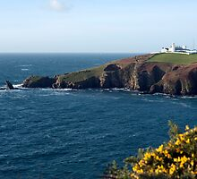 Lizard Point and Lizard Lighthouse by photoeverywhere