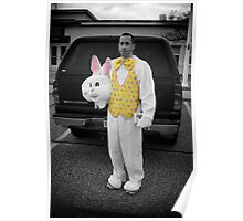 The Real Easter Bunny  Poster