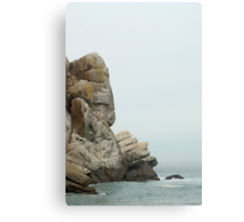 morro rock details Canvas Print