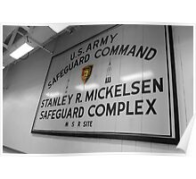 Safeguard Command Poster
