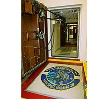 Cavalier Air Force Base Entrance Photographic Print
