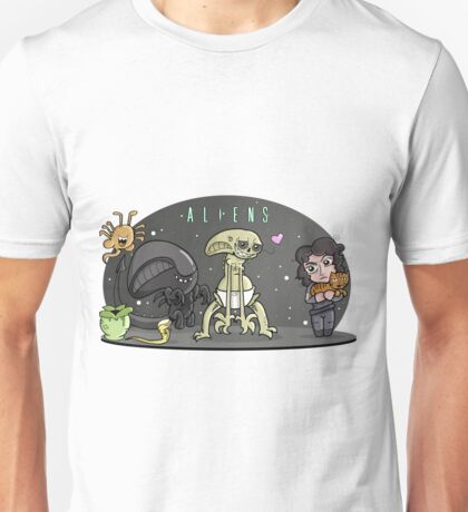 Cute Aliens Unisex T-Shirt