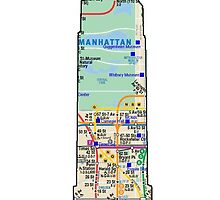 subway map new york  Empire state building by hookink