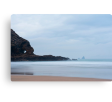 Coastline at Perran Beach, Perranporth Canvas Print