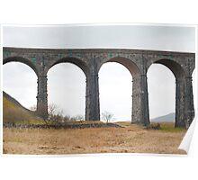 Railway viaduct Poster