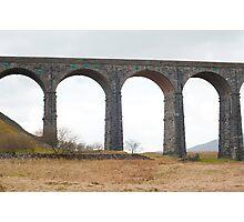 Railway viaduct Photographic Print