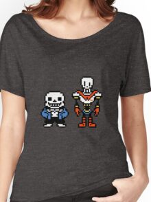 Undertale - Sans and Papyrus Women's Relaxed Fit T-Shirt