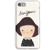 Bonjour iPhone Case/Skin