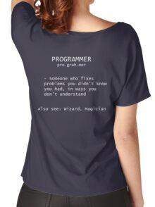 Programmer Definition Women's Relaxed Fit T-Shirt