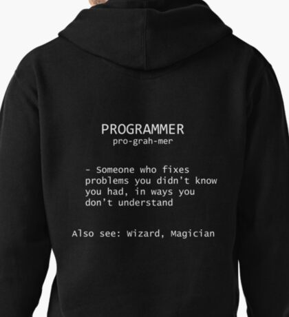 Programmer Definition Pullover Hoodie