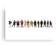 The Thirteen Doctors Canvas Print