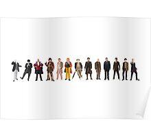The Thirteen Doctors Poster