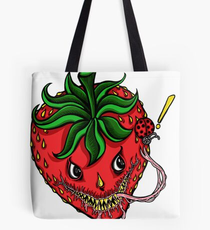 Sinister Strawberry Tote Bag