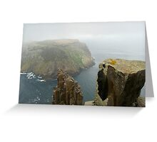 tasman island the blade Greeting Card
