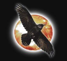 crow sun by arteology
