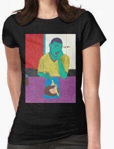I'm BWOOAARD!!! Womens Fitted T-Shirt