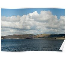 Ulverston viaduct, Cumbria Poster